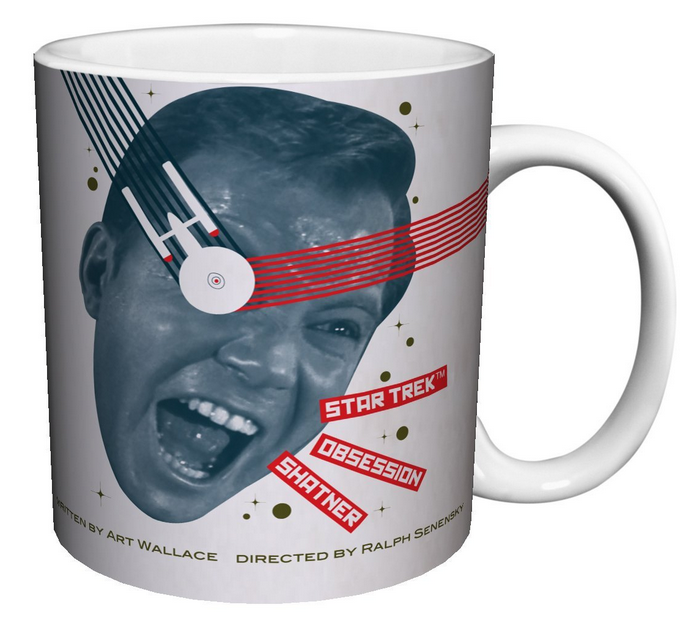 Captain Kirk OBSESSION U2013 Star Trek TOS Coffee Mug