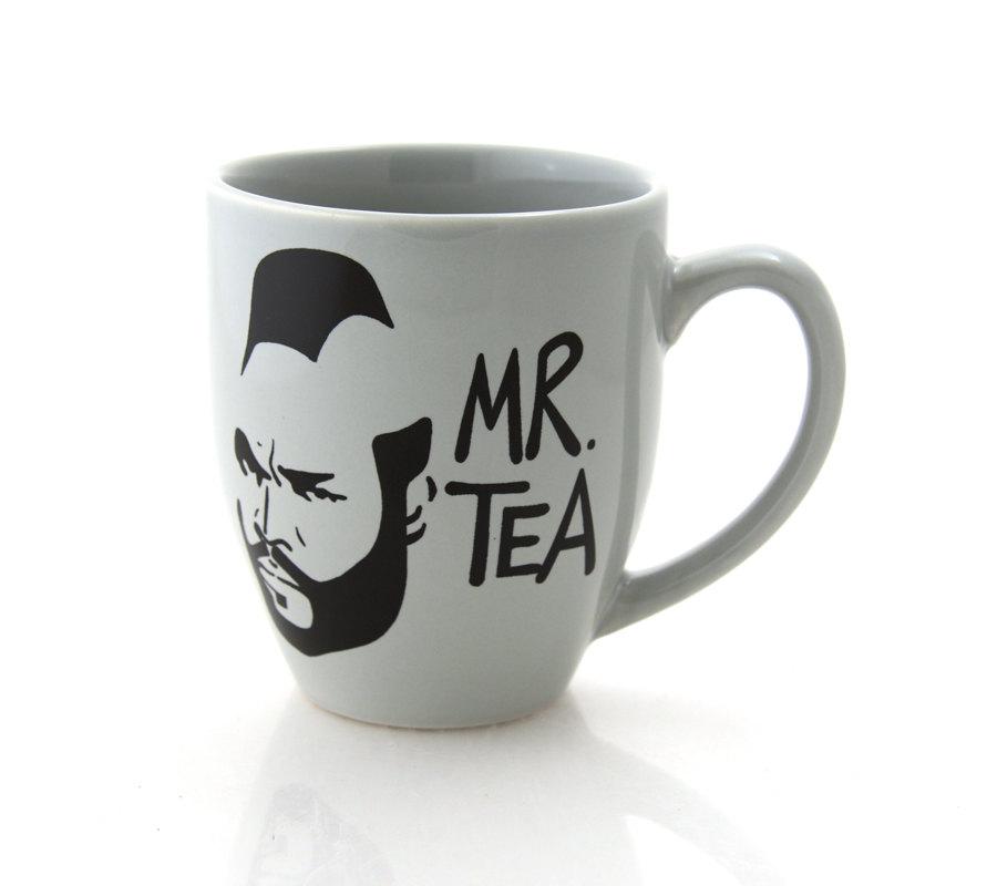 MR TEA U2013 Funny Mug With B.A. From The A Team
